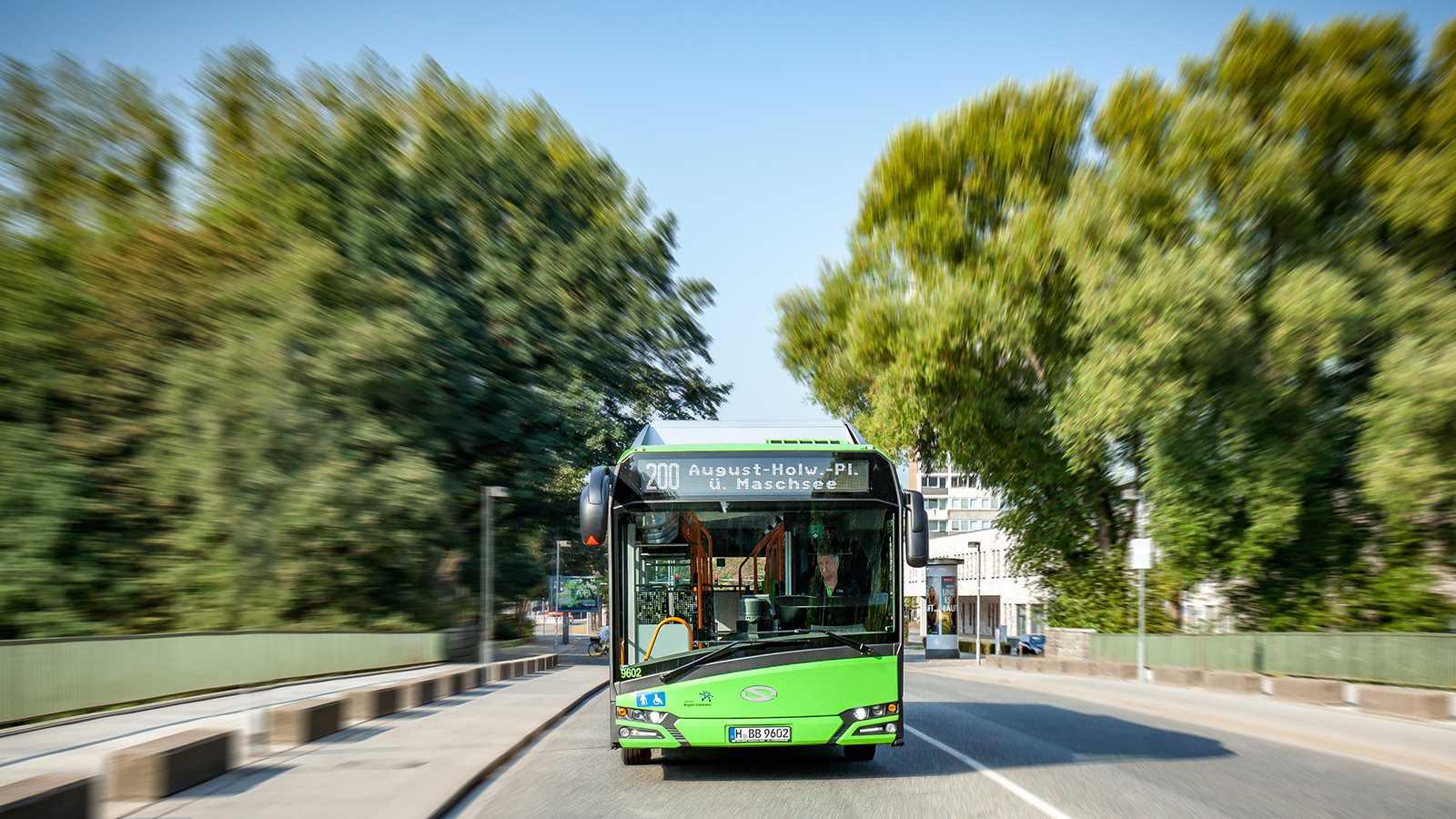 ÜSTRA - Elektromobilität